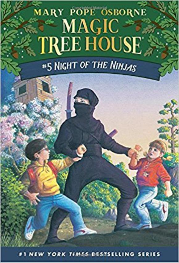 Ниндзя в ночи (Волшебный дом на дереве — 5)