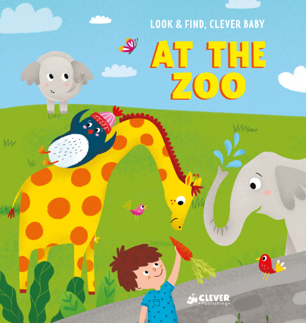 Look and find, Clever baby: At The Zoo