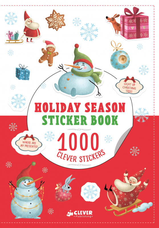 Holiday Season Sticker Book